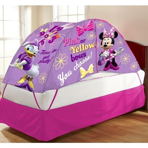 Disney Mickey Mouse & Friends Minnie Mouse & Daisy Duck Bed Tent by Disney