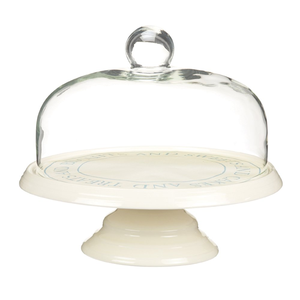 glass dome cake stand libbey selene 2 piece cake dome. Black Bedroom Furniture Sets. Home Design Ideas