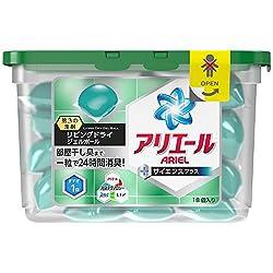 アリエール 洗濯洗剤 液体 リビングドライジェルボール 本体 437g (18個入り)