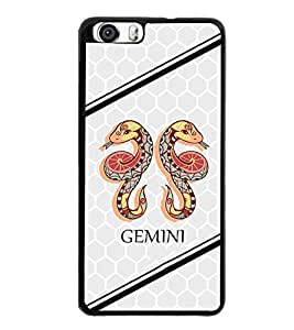 PrintVisa Metal Printed Gemini Designer Back Case Cover for Huawei Honor 6-D5013