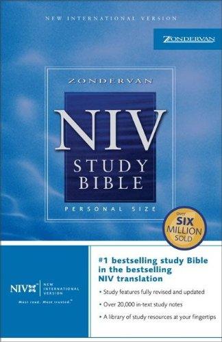 Zondervan NIV Study Bible, Personal Size