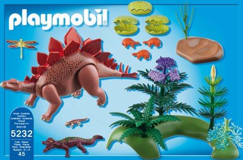 Playmobil dinosaurios estegosaurius 5232 por playmobil for Playmobil dinosaurios