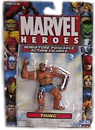 Marvel Heroes Miniature Poseable Thing Action Figure