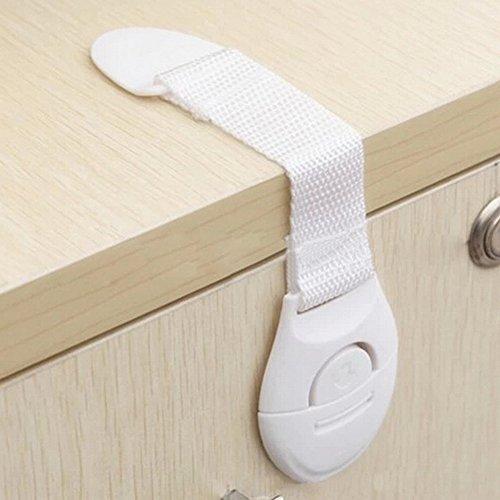Child Safety Locks For Kitchen Cabinets: Yantu Child Safety Locks For Cabinets & Appliances. Baby