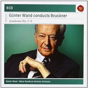 Bruckner : Symphonies n° 1 à n° 9 (Coffret 9 CD) / Günter Wand