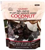 Savanna Orchards Dark Chocolate Covered Coconut, 24 Ounce