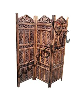 Aarsun Woods Aarsun Handcrafted Wooden Partition Screen / Room Divider