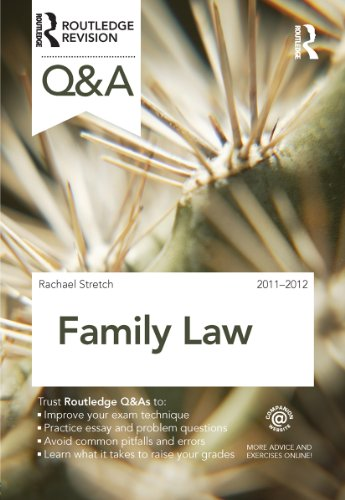 Family Law: 2011-2012 (Questions and Answers)