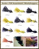 Fly Fishing Flies - Guide's TOP Assortment - WOOLLY BUGGERS (32 flies)