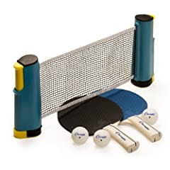 Buy Champion Sports Anywhere Table Tennis To Go Set by Champion Sports