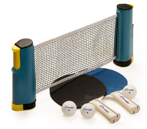 Find Discount Champion Sports Anywhere Table Tennis To Go Set