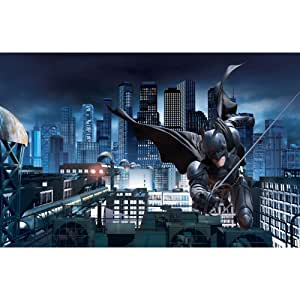Roommates jl1255m batman the dark knight rises prepasted for Dark knight mural