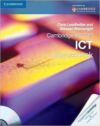 Cambridge IGCSE ICT Coursebook with CD-ROM (Cambridge International IGCSE)