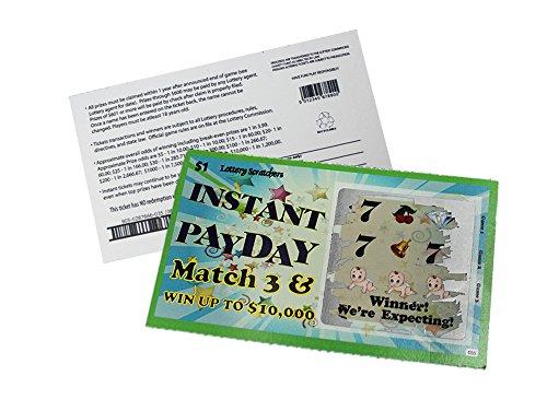 Scratch Off Pregnancy Announcement Lotto Scratcher Replica Card~ Pack Of 10