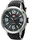 U.S. Polo Assn. Sport Men's US9054 Watch with Black Rubber Band