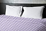 Ebydesign Geometric Duvet Cover, Queen, 4Heather