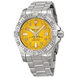 Breitling Avenger II Seawolf Yellow Dial Stainless Steel Mens Watch A1733110-I519SS (Color: Yellow)