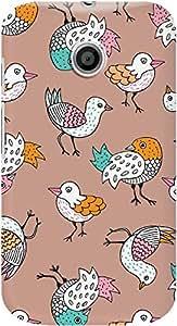 DailyObjects Quirky Birds Case For Motorola Moto E (Back Cover)