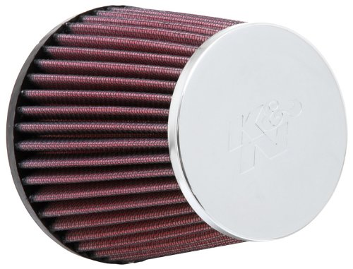 K&N RC-9410 High Performance Universal Clamp-on Chrome Air Filter