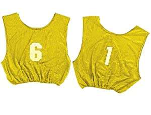 Champion Sports Adult Numbered Scrimmage Vests by Champion Sports