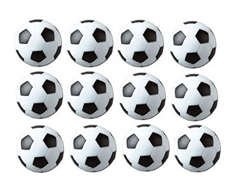Sale!! SUNREEK™Set of 12/24 Soccer Ball Style Foosballs for Tornado, Dynamo or Shelti Tables