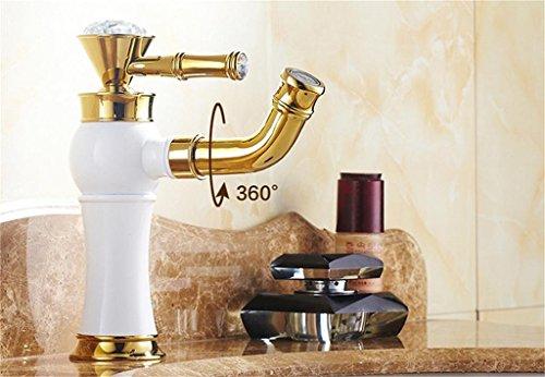 shopping tout europ enne du cuivre archaize robinet r tro m langeur bassin de salle de bains de. Black Bedroom Furniture Sets. Home Design Ideas