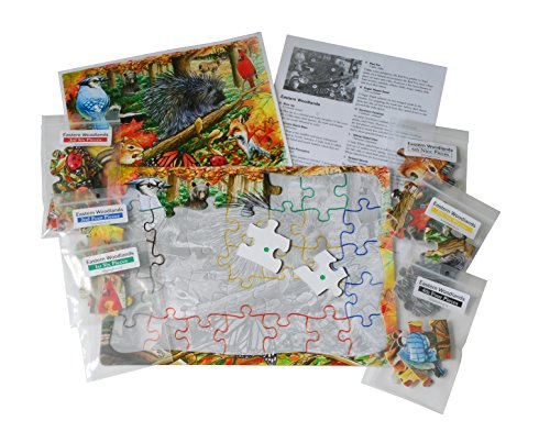 Toys For Alzheimer S : Eastern woodlands piece sequenced jigsaw puzzle for