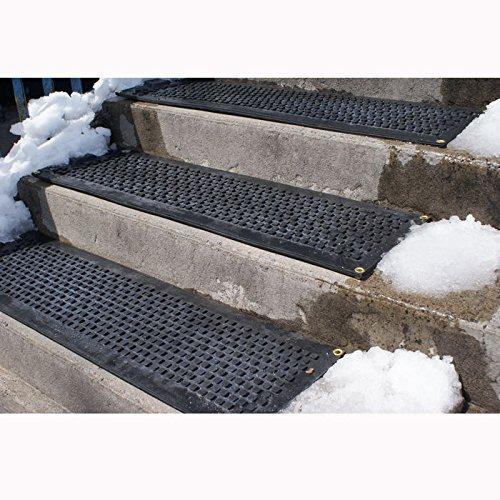 HOT-blocks Outdoor Heated Industrial Stair Mat