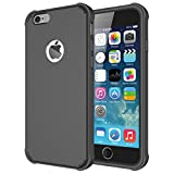 iPhone 6s Case - Diztronic Voyeur Series for Apple iPhone 6 & 6s - Full Matte Charcoal Gray (IP6-VOY-GRY)