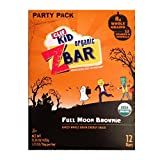 CLIF Kid Organic ZBAR Full Moon Brownie Baked Whole Grain Energy Snack - 12 Bars