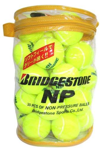 Bridgestone (Bridgestone) Non-pressure Tennis Balls Bba460t 30 Pcs