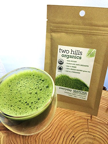 Everyday Matcha, 30G (1.05 Oz) - Organic - Fresh - Powerful Antioxidant - Rich In L-Theanine - Boost Metabolism - Energy - Lattes - Smoothies - Culinary Arts - Easy To Make