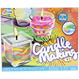 Grafix Candle Making Kit - Create Your Own Unique Candles with 5 Bags of Colored Wax