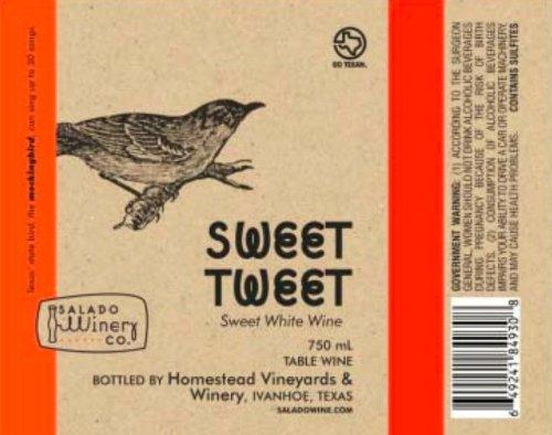 Nv Salado Winery Sweet Tweet White 750 Ml