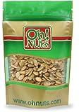 Pepitas Roasted Unsalted (No Shell Pumpkin Seeds) 1 Pound Bag - Oh! Nuts