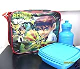 Ben 10 Lunch Box Bag with Free Water Bottle and Snack Nox