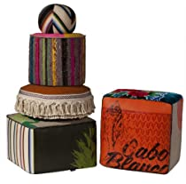 Hot Sale Totem Pouf Set