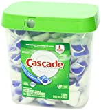 Cascade Actionpacs Dishwasher Detergent, Fresh Scent