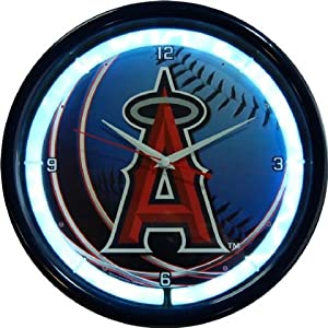 Authentic Street Signs Los Angeles Dodgers Plasma Clock by Authentic Street Signs