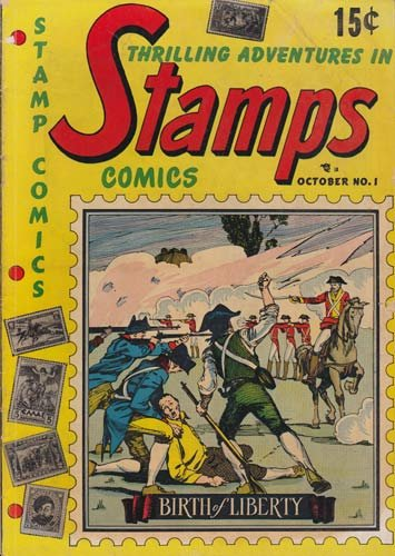 Comics - Stamps Comics #1 Comic Book (Oct 1951) Very Good