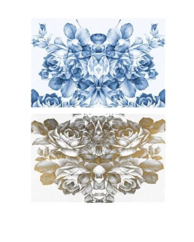 Oliver Gal Adore Diptych Canvas Art