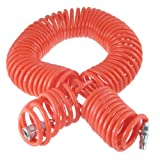 "1/2"" Quick Connector 8mmx5mm Air Compressor Recoil Hose Tubing 15M 49 Ft"