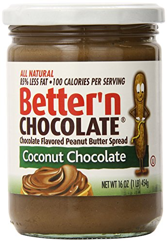 Better'n Peanut Butter Chocolate Spread, Coconut, 16 Ounce (Peanut Butter Alternative compare prices)