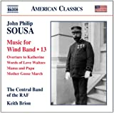Sousa: Music for wind band, Vol. 13