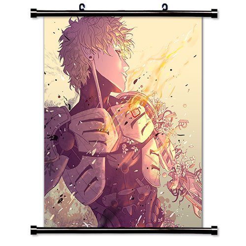 One Punch Man Anime Fabric Wall Scroll Poster (32 x 38) Inches