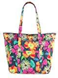 Vera Bradley Large Laptop Tote Jazzy Blooms