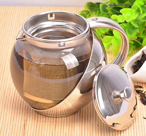 Learn More About Fu Global 900 ml Best Value Economic Tea Maker with Removable Infuser, Safe Glass P...