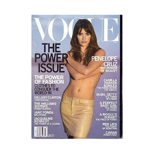 VOGUE Magazine March 2001 , Wintour, Anna (editor)