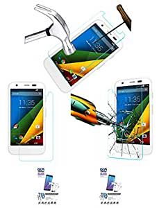 Acm Pack Of 2 Tempered Glass Screenguard For Motorola Moto G Mobile Screen Guard Scratch Protector
