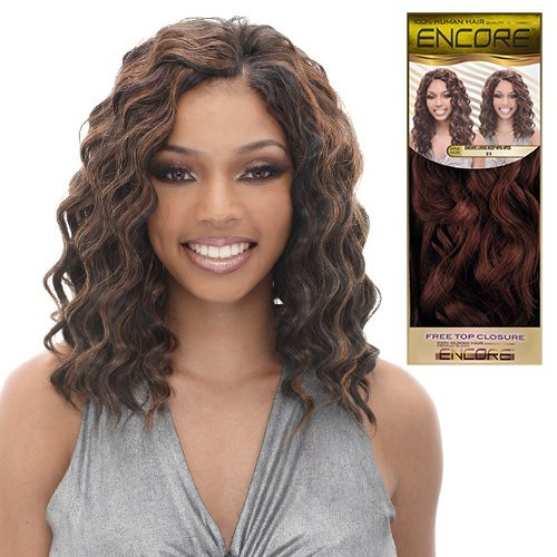 Janet-Collection-Human-Hair-Blend-Weave-Encore-Loose-Deep-4PCS